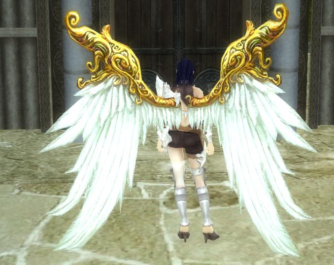 Крылья с динамическим цветом