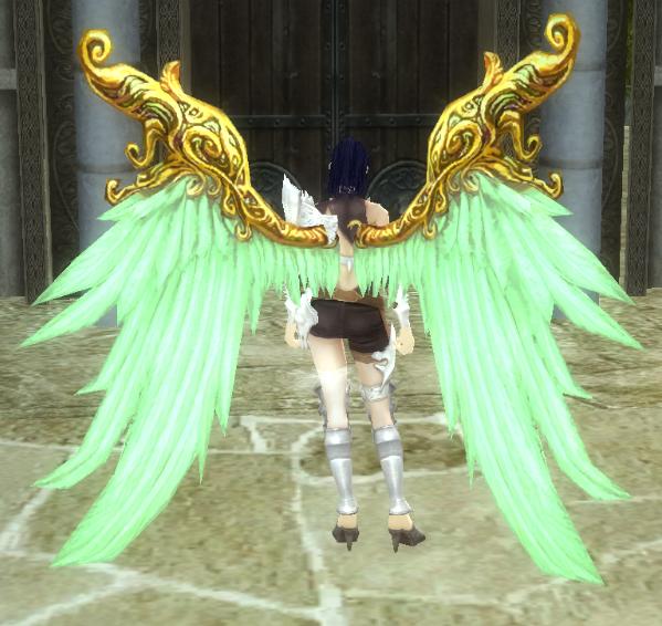 Зеленые крылья