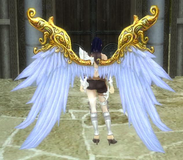 Синие крылья
